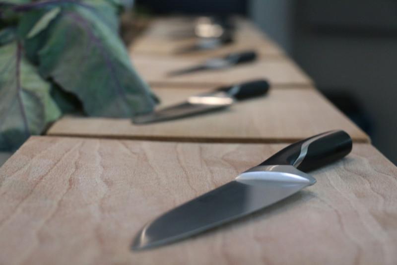 Kockkniv-blänker